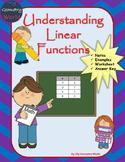 Algebra 1 Worksheet: Understanding Linear Functions