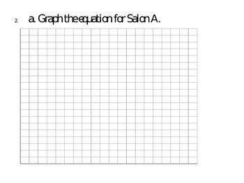 Algebra 1 Writing Prompt