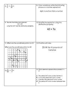 Algebra 1: common Core