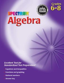 Spectrum Algebra 20% OFF! 704070