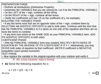 HS [Remedial] Algebra 1B UNIT 1: Concepts REVIEW (5 wrkshts;7 quizzes)