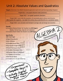 Algebra 2: Absolute Value and Quadratic Functions (Unit 2)