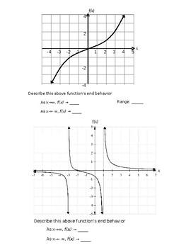 Algebra 2:  Analyzing Horizontal Assymptotes Students Notes