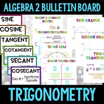 Algebra 2 Bulletin Board:  Trigonometry