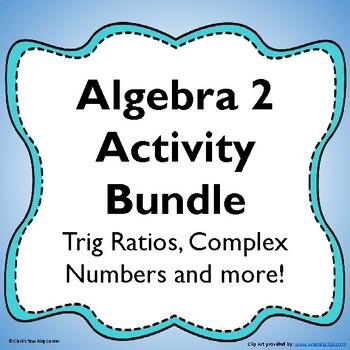 Algebra 2 Bundle