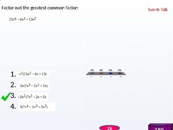 Algebra 2: CU 2: P.5 Day 1: Factoring Polynomials
