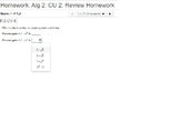 Algebra 2: CU 2: Review: Polynomial Expressions