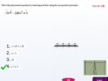 Algebra 2: CU 4 and 5: 1.6 Day 1: Other Types of Equations (polynomial)