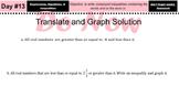 LONG HAUL: Algebra 2 Compound Inequalities cont Smartboard #6