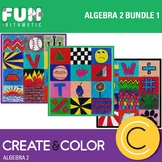 Algebra 2 Create and Color Bundle 1