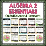 Algebra 2 Curriculum Essentials