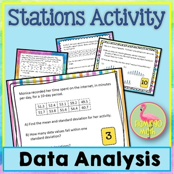 Algebra 2: Data Analysis Station Activity