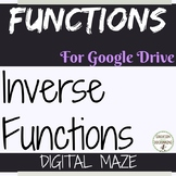 Inverse Functions Activity Digital Maze Google Drive Algebra 2