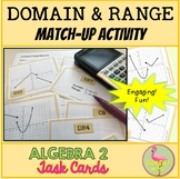 Domain and Range Match Up Activity