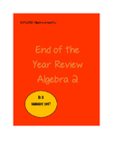 Algebra 2 End Of The Year Review or Final Assessment