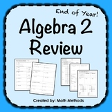 Algebra 2 End of Year Review Practice!