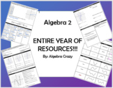 Algebra 2 Bundle - Entire Year of Curriculum!!!! (7 units)