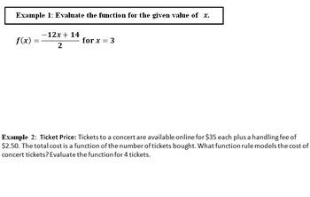 LONG HAUL: Algebra 2 Evaluating Functions Smartboard #11