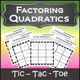 Factoring Polynomials Activity {Factoring Trinomials Activity} {Algebra Games}