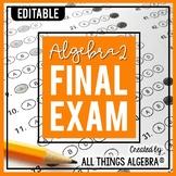 Algebra 2 Final Exam