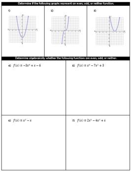 Algebra 2 First Semester Final Exam and Study Guide Bundle ...
