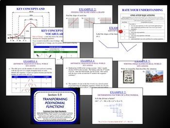 Algebra 2 Unit Plans 1-8 (Bundled)