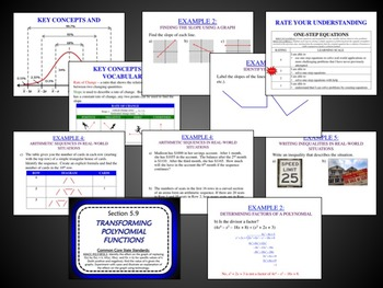 Algebra 2 Full Year Unit Plans (Bundled) - Aligned for Common Core