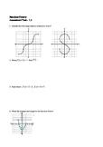 Algebra 2 Function theory Assessment