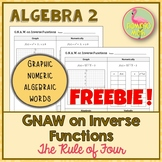 GNAW on Inverse Functions Freebie