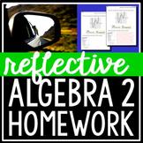 Reflective Algebra 2 Homework