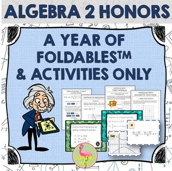 Algebra 2: A Year of Foldables™ and Activities
