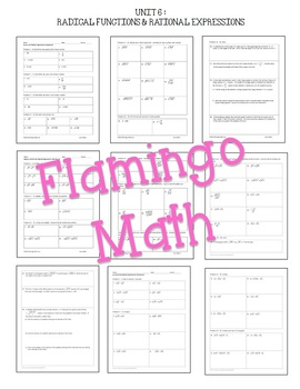 Algebra 2 Curriculum A Year of Homework