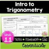 Intro to Trigonometry Essentials (Algebra 2 - Unit 11)