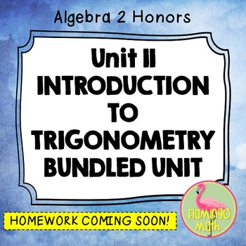 Algebra 2: Introduction to Trigonometry