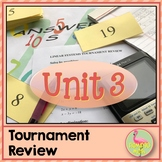 Linear Systems Tournament Review Activity (Algebra 2 - Unit 3)