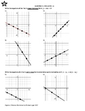 Algebra 2 Mastery worksheets:  1-Linear Equations