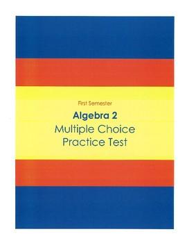 Algebra 2 Multiple Choice Test (50 Questions)