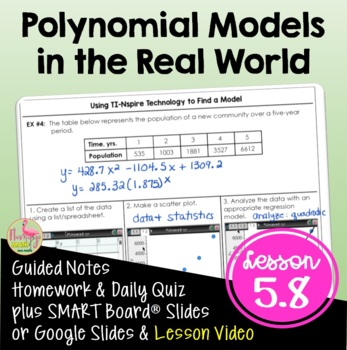 Algebra 2: Polynomials in the Real World