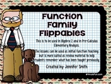 Algebra 2 & Pre-Calculus Function Family Flippables Intera