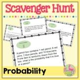 Probability Scavenger Hunt (Algebra 2 - Unit 12)