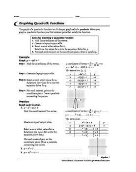 Algebra 2: Quadratics and Ellipses