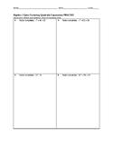 Algebra 2 Quiz - Factoring Quadratic Expressions BUNDLE