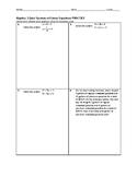 Algebra 2 Quiz - Systems of Linear Equations BUNDLE
