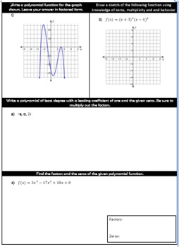 Algebra 2 Quiz and Test Bundle - Over 25 Assessments!