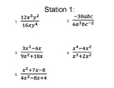 Algebra 2: Rational Expressions (Simplifying, Multiplying