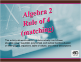 Algebra 2 Rule of Four (graph matching)