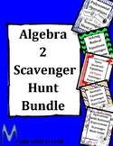 Algebra 2 Scavenger Hunt Bundle