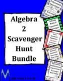 Algebra 2 Scavenger Hunt Bundle