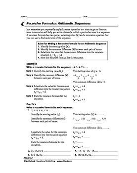 Algebra 2: Sequences, Series, Trigonometry, and Statistics