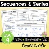 Sequences and Series Essentials (Algebra 2 - Unit 9)